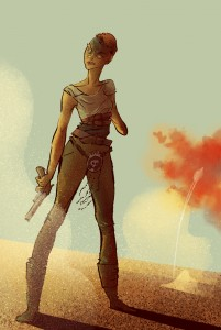 Valerie's fan art of Furiosa